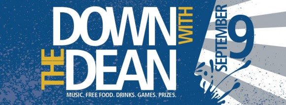 Down With The Dean graphic
