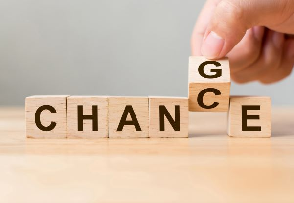 Reinvent yourself... a chance for change