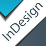 graphic with the word InDesign on it