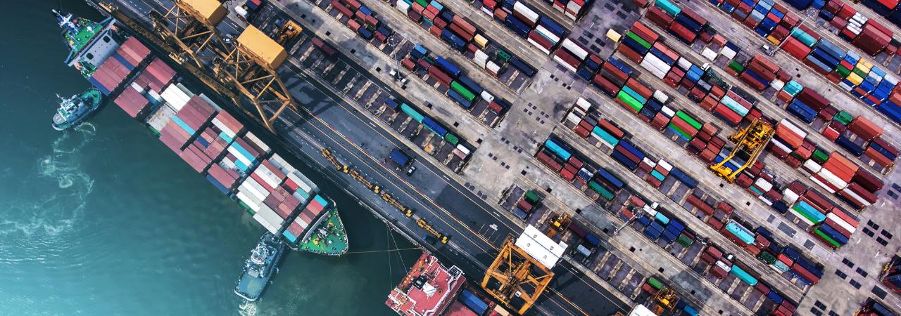 cargo ship supply chain