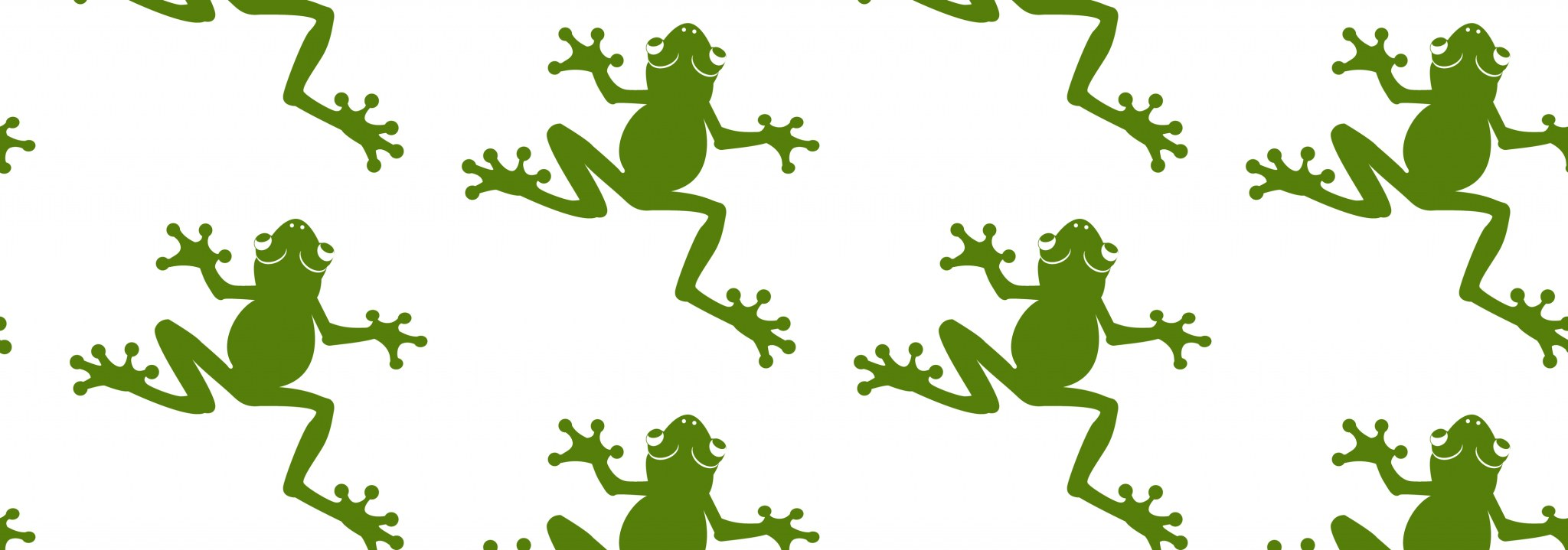 frog vector silhouette