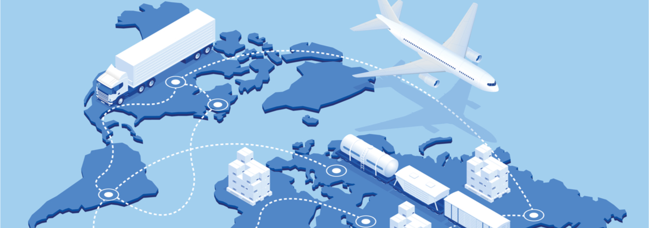 Supply Chain Global Graphic