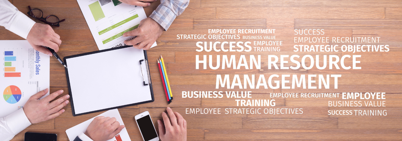 human resources word concept