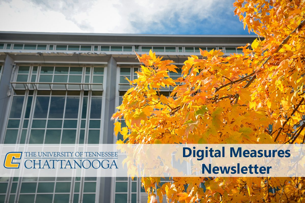 Fall 2018 Digital Measures Newsletter