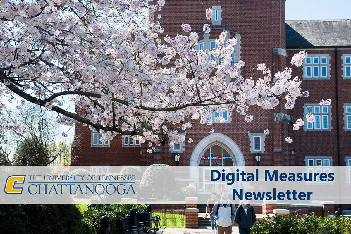 Spring 2019 Digital Measures Newsletter