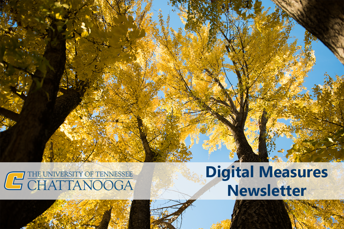 Fall 2019 Digital Measures Newsletter