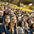 Photo of students at Convocation