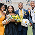 Picture of the 2017 and 2018 Homecoming Queens and Top Mocs