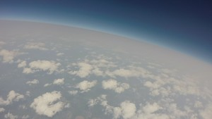 Image taken by MOC1 at an altitude of 108,000 feet.