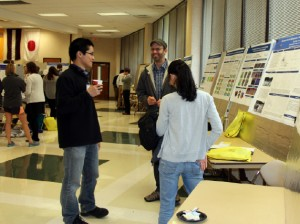 Weiyang Lin, Ethan Hereth and Chao Wu, Research Dialogues participants.