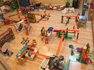 Spinning, swirling, sliding and speeding: Student's machines are a wonder