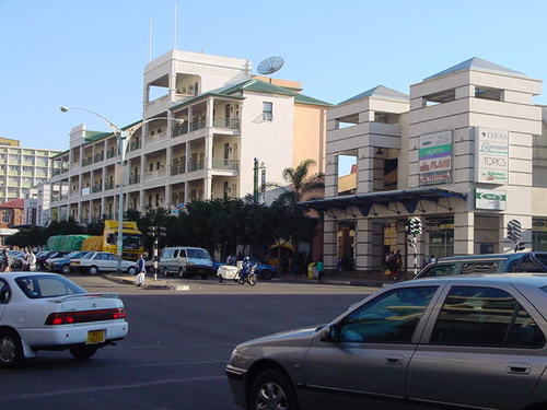 Image of the Bulawayo city center.