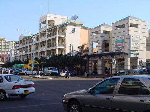 Image of the Bulawayo city center.