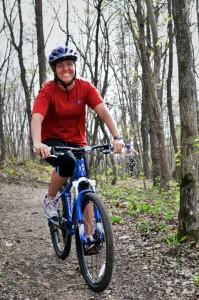 Mountain Biking...