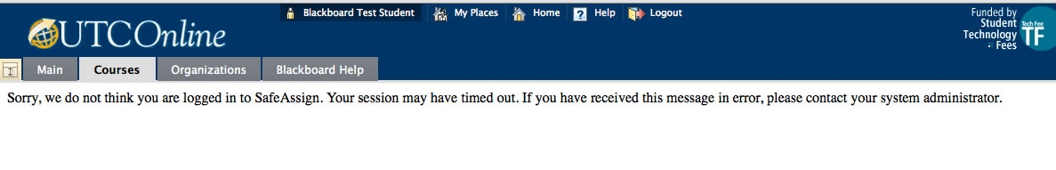 Sorry, we do not think you are logged in to SafeAssign.  Your session may have timed out.  If you have received this message in error, please contact your system administrator.
