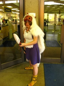 morgan mosher as princess mononoke