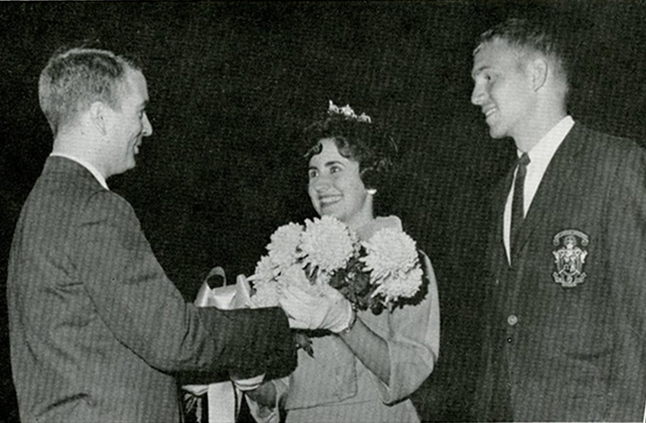1963 Homecoming King and Queen