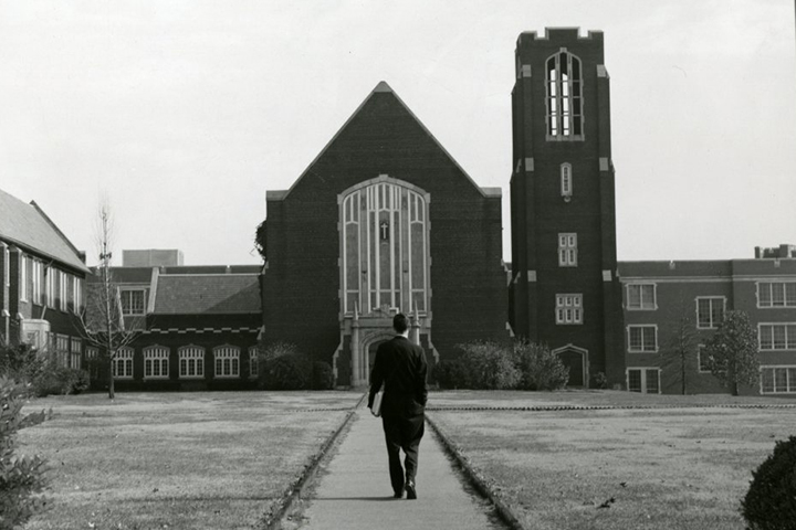 Patten Chapel. Photo courtesy of Special Collections & University Archives, UTC Library, The University of Tennessee at Chattanooga.