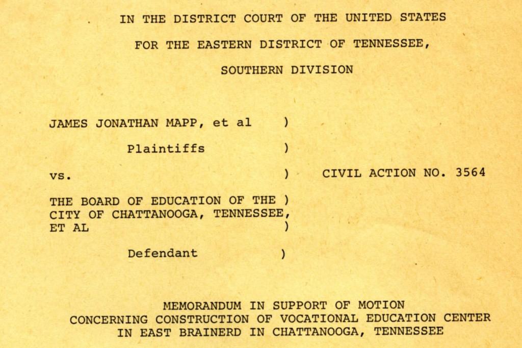 Mapp v. Board of Education