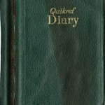 Cover of one of Sullivan's diaries. Photo courtesy of Special Collections & University Archives, UTC Library, The University of Tennessee at Chattanooga.