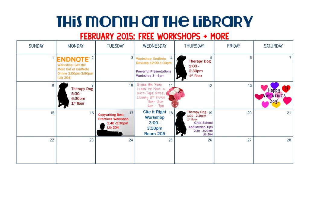 Calendar - February 2015