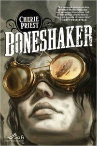 Cover of Boneshaker, written by UTC alumnus Cherie Priest.