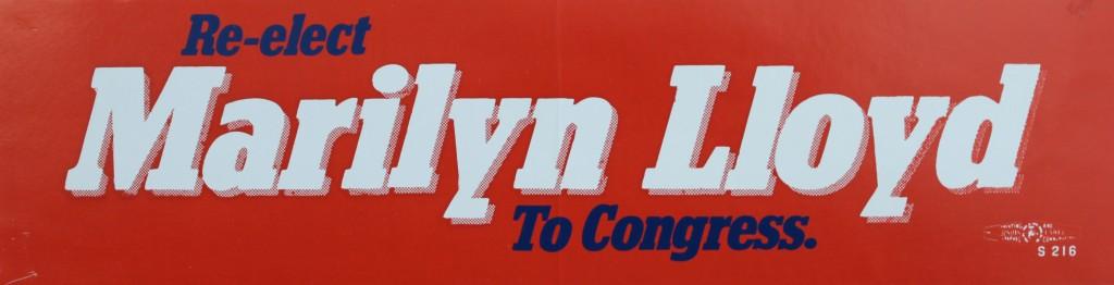 Re-elect Marilyn Lloyd to Congress