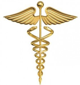 Medical symbol - staff of asclepius