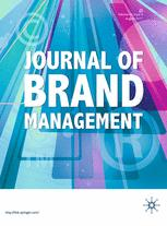 Journal of Brand Management cover