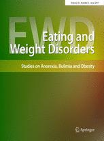 Eating and Weight Disorders - Studies on Anorexia, Bulimia and Obesity cover