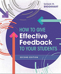 How to give effective feedback book cover