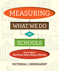 measuring what we do in schools book cover