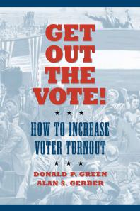 get out the vote book cover