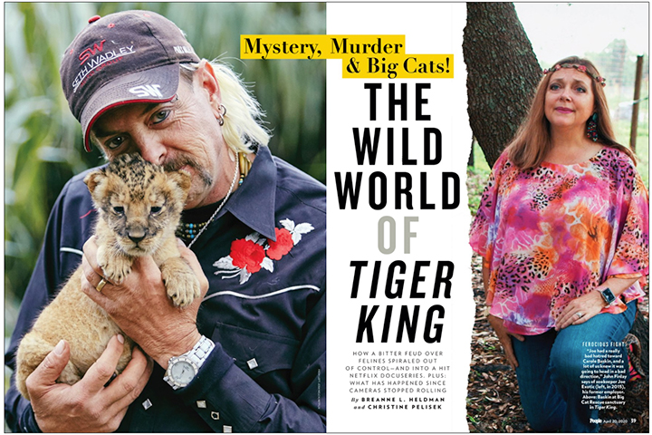 tiger king article from People Magazine