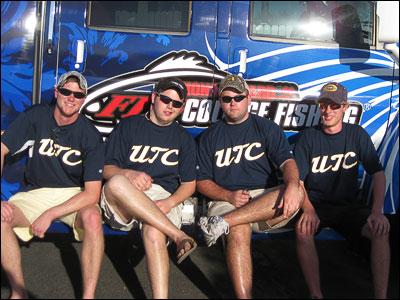 Mocs Bass Anglers at Okeechobee tournament