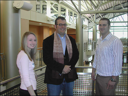 Josh McManus speaks with UTC business students