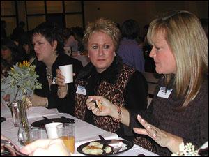 Forum speakers from left:  Adelia Mosley, Lynne Goodman, Merri Mai Williamson