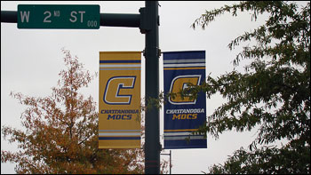 Blue and Gold days downtown