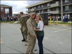 Amanda Crain and Jacob Godwin
