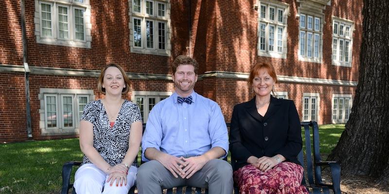 From left, Elizabeth Beske, Fyke Fisher, Beau Sidell