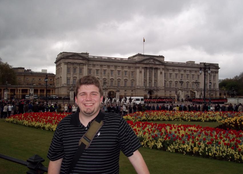 Kyle Marcum at Buckingham Palace