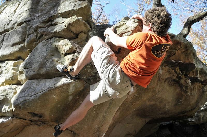 UTC Outdoors bouldering trip