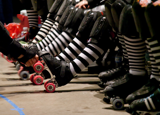 The Chattanooga Roller Derby team