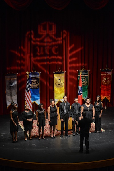 Littleton H. Mason Singers provided a musical presentation