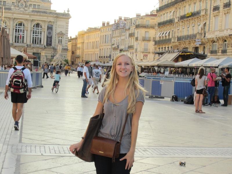Caroline Neal in Montpelier, France
