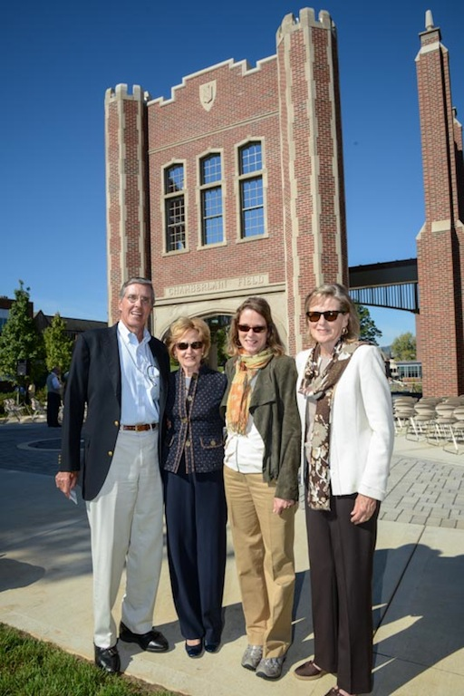 from left, Dr. Morrow Chamberlain, Betsy Tuller, Louise  Tual, Nan Smith