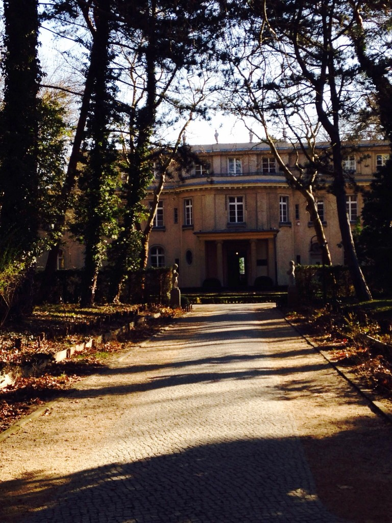 Wannsee House, where high ranking Nazi and German officials gathered to discuss plans to deport and kill Jews in German held territories.