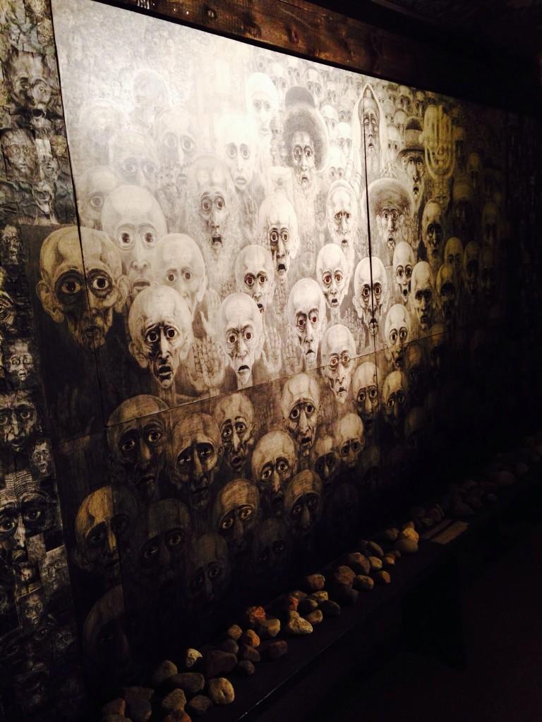 Photos of the exhibit at Harmeze Monastery
