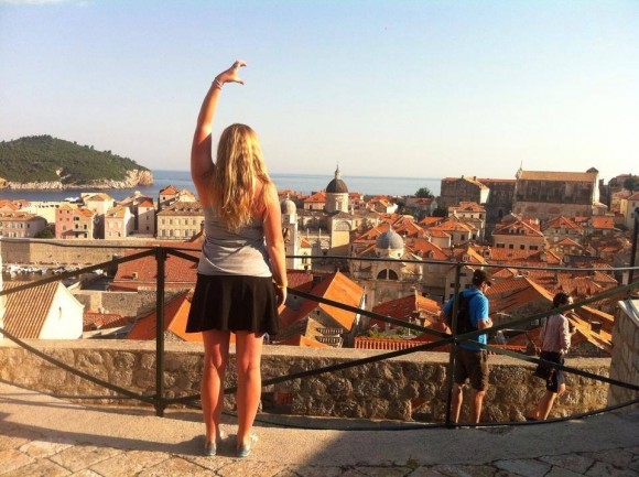 Photo by Katie Oliver. Taken at the Old Town Wall in Dubrovnik, Croatia.