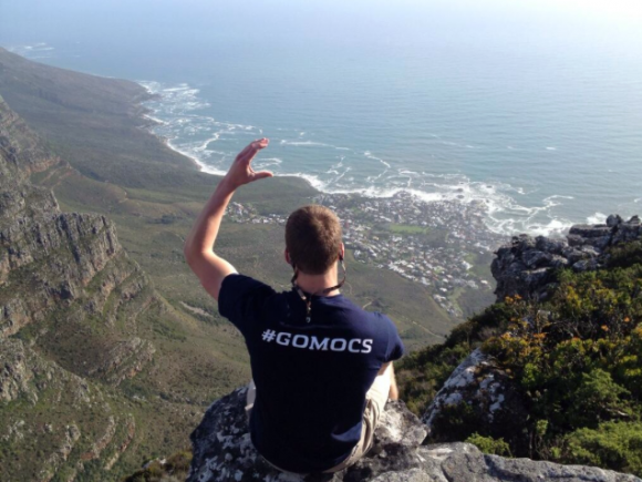 Photo by Zach Pursley. Taken at the top of Table Mountain in Cape Town, South Africa.